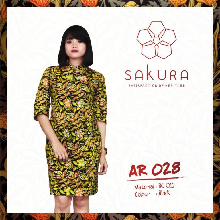 Blouse Batik Cap by PT Sakura Sarana Putra