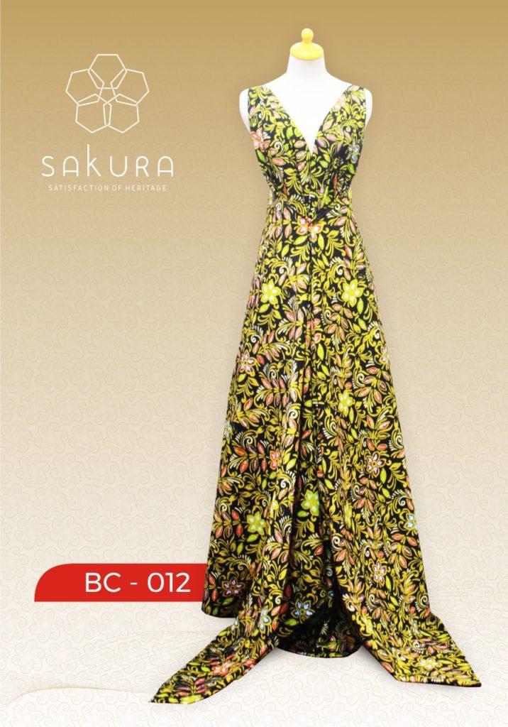 material batik katun pt sakura sarana putra solo