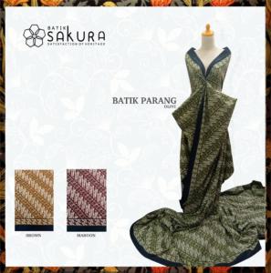 Batik Parang Hasil Produksi Sakuratex