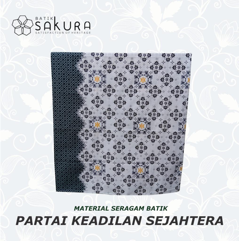 Contoh Seragam Batik Parpol Dari PT SAKURATEX SOLO