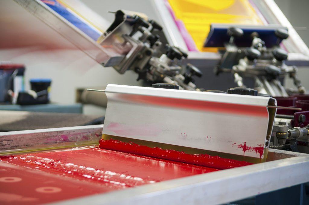 proses printing kain dengan mesin