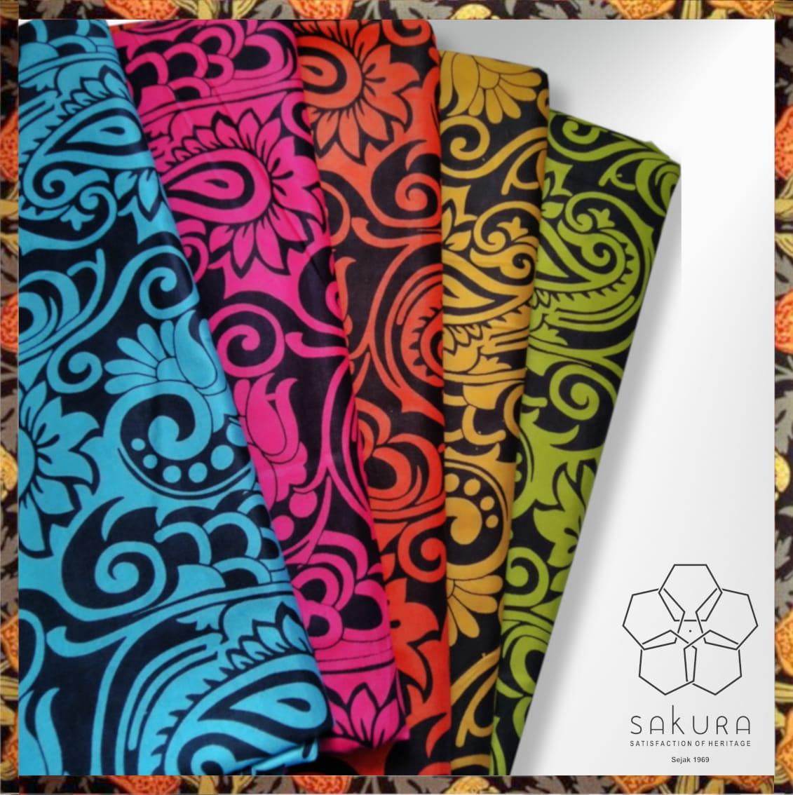 Material katun printing pt sakura sarana putra solo