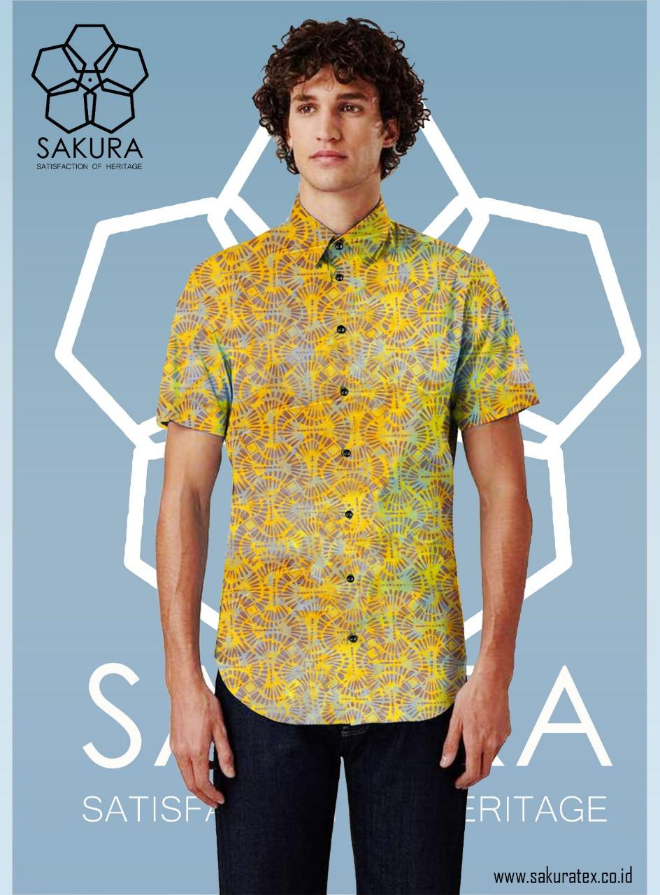 tampilan produk kemeja batik pt sakura sarana putra
